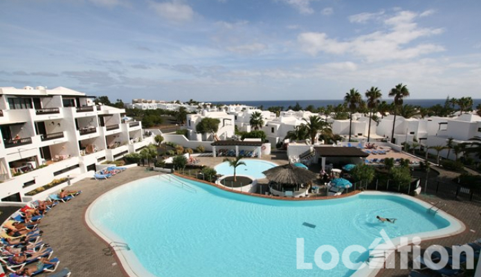 Penthaus Apartment in erster Line mit Meerblick, Costa Teguise